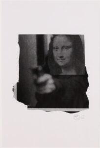 Mona Shot (Black and White) · 2004 · Nick Walker