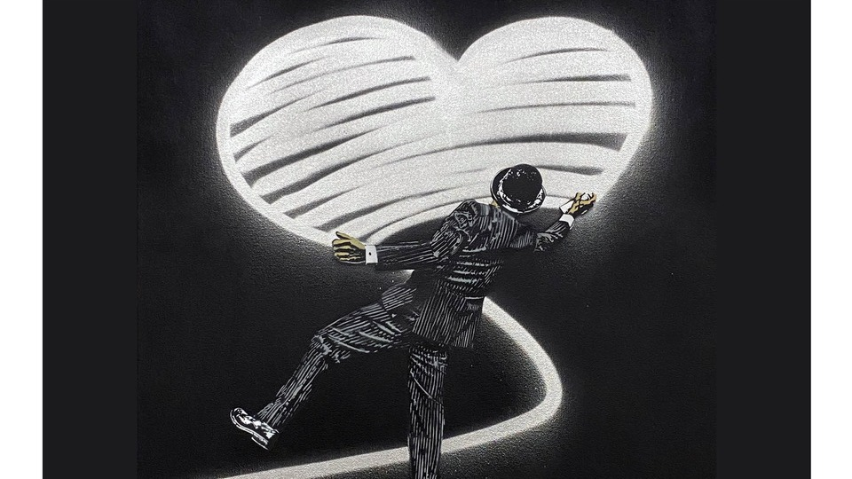 """Nick Walker artwork """"Love Vandal"""""""