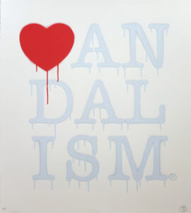 Vandalism Light Blue · 2014 · Nick Walker