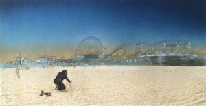 Santa Monica - The Morning After · 2013 · Nick Walker