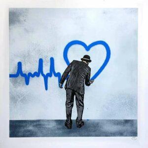 Love Goes On – Blue Version · 2018 · Nick Walker