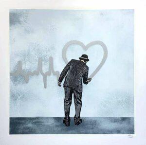 Love Goes On – Silver Version · 2018 · Nick Walker
