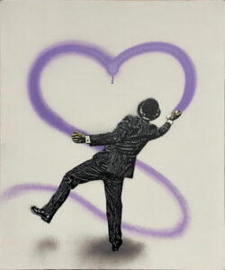 Love Vandal - Purple · 2021 · Nick Walker