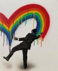 Love Vandal - Rainbow Ends · 2021 · Nick Walker