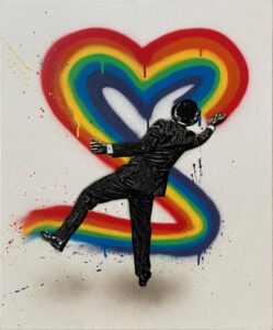 Love Vandal - Rainbow Maker · 2021 · Nick Walker